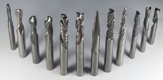 Các loại dao cắt CNC